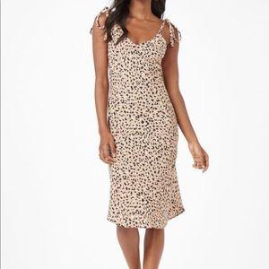 Audrey 3+1 Hannah G     Leopard Midi Dress